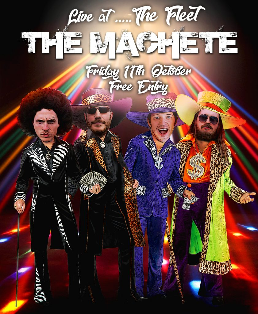 The Machete live at the Fleet